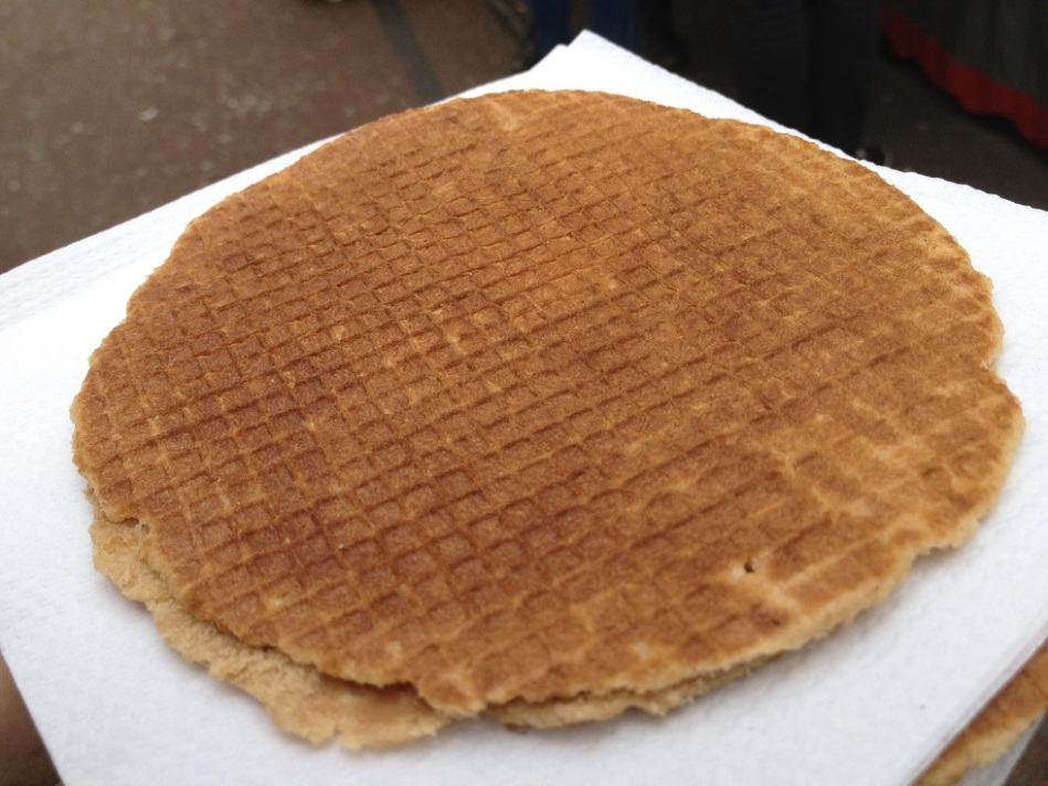 Stroopwafel dutch food