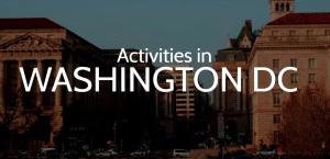 washington dc activities
