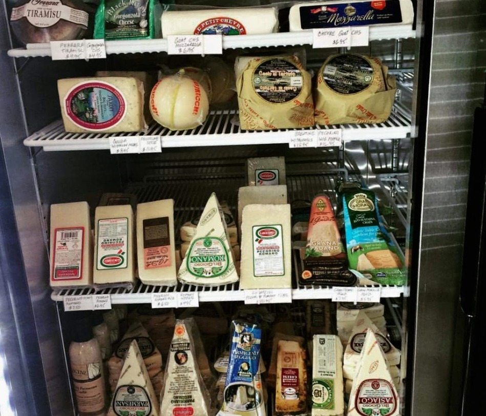 Imported Italian Cheeses from Italy at Austin's It's Italian Market and Cafe