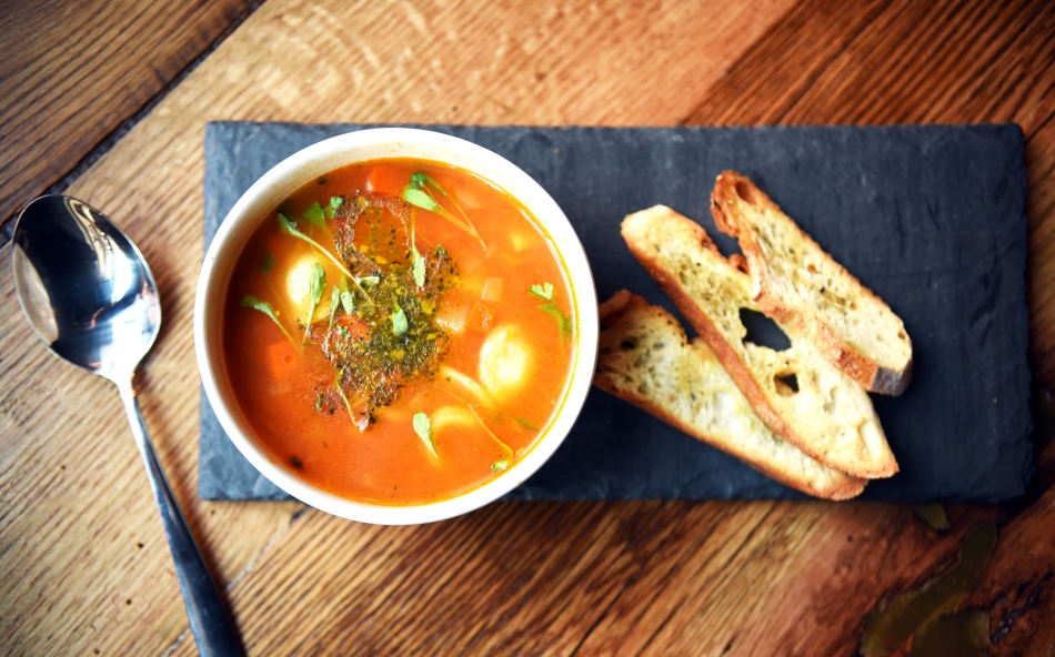 French soup in NYC | Soupe au Pistou