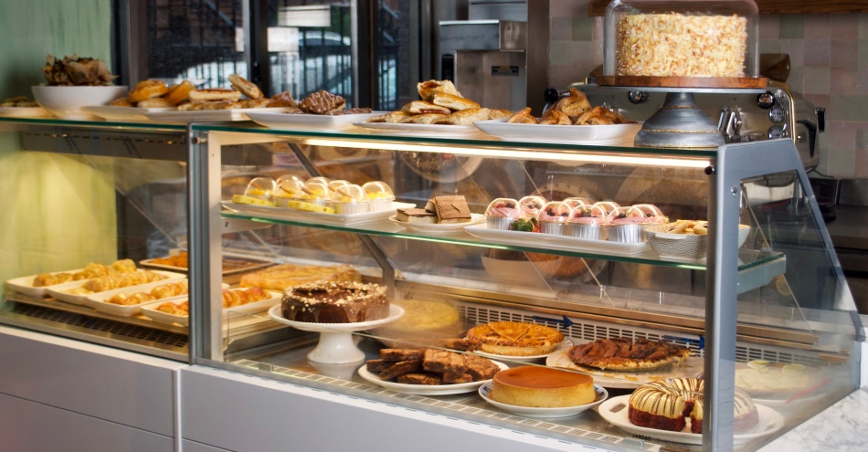 Pilar Cuban Bakery Display Case 2 by Lily Brown
