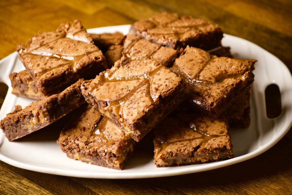 Pilar Cuban Bakery Dulce du Leche Brownies by Lily Brown